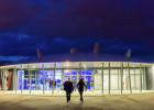 Le pavillon événementiel d'Océanopolis à Brest.