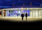 Séminaire en soirée dans le pavillon événementiel d'Océanopolis