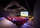 Conférence dans l'amphithéâtre Yves De Kerguelen d'Océanopolis, Brest.