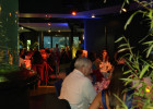 Dîner de gala dans le pavillon tempéré d'Océanopolis, Brest.