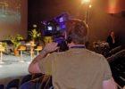 Captation vidéo lors d'une conférence à l'auditorium marion Dufresne d'Océanopolis